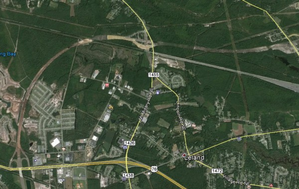 Brunswick County I-40 extension to Hwy 74