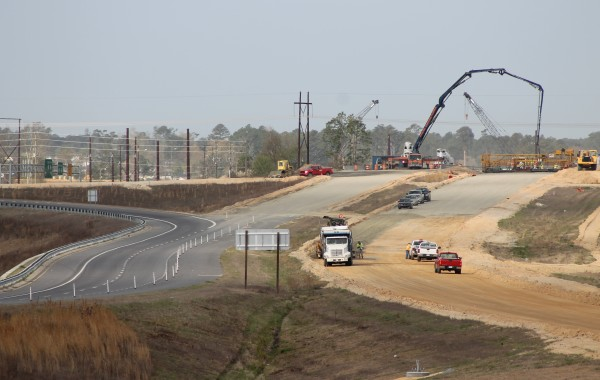 Fayetteville Outer Loop from Ramsey St to All American Interchange